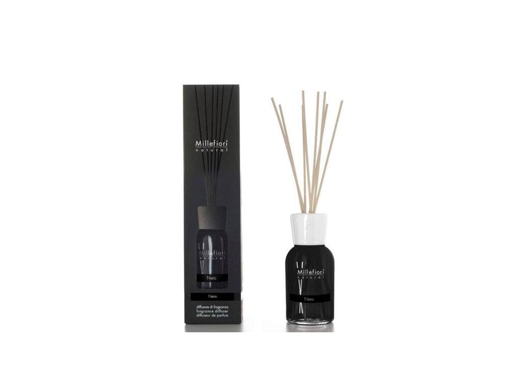 Millefiori Natural Nero aroma difuzér 100 ml