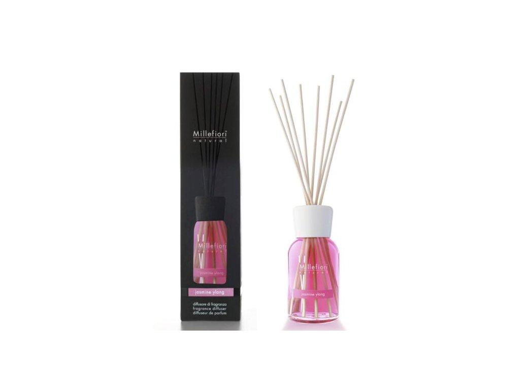 Millefiori Natural Jasmine Ylang aroma difuzér 250 ml