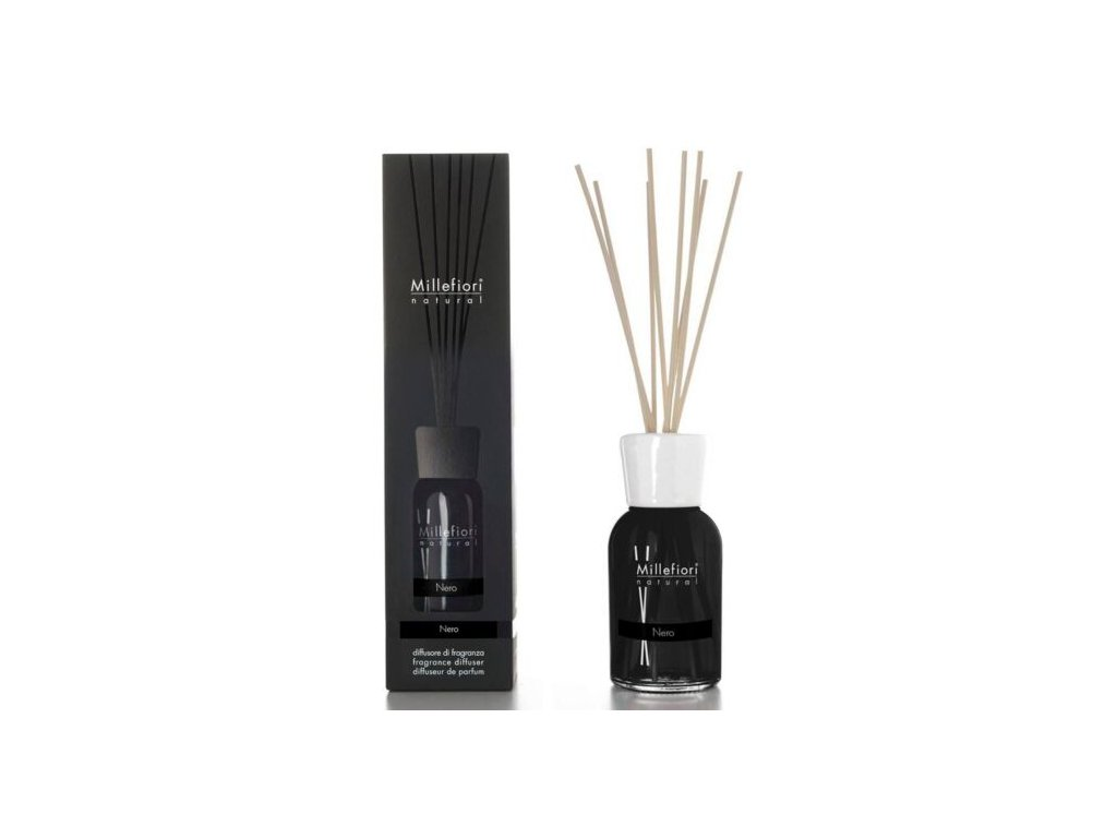 Millefiori Natural Nero aroma difuzér 250 ml