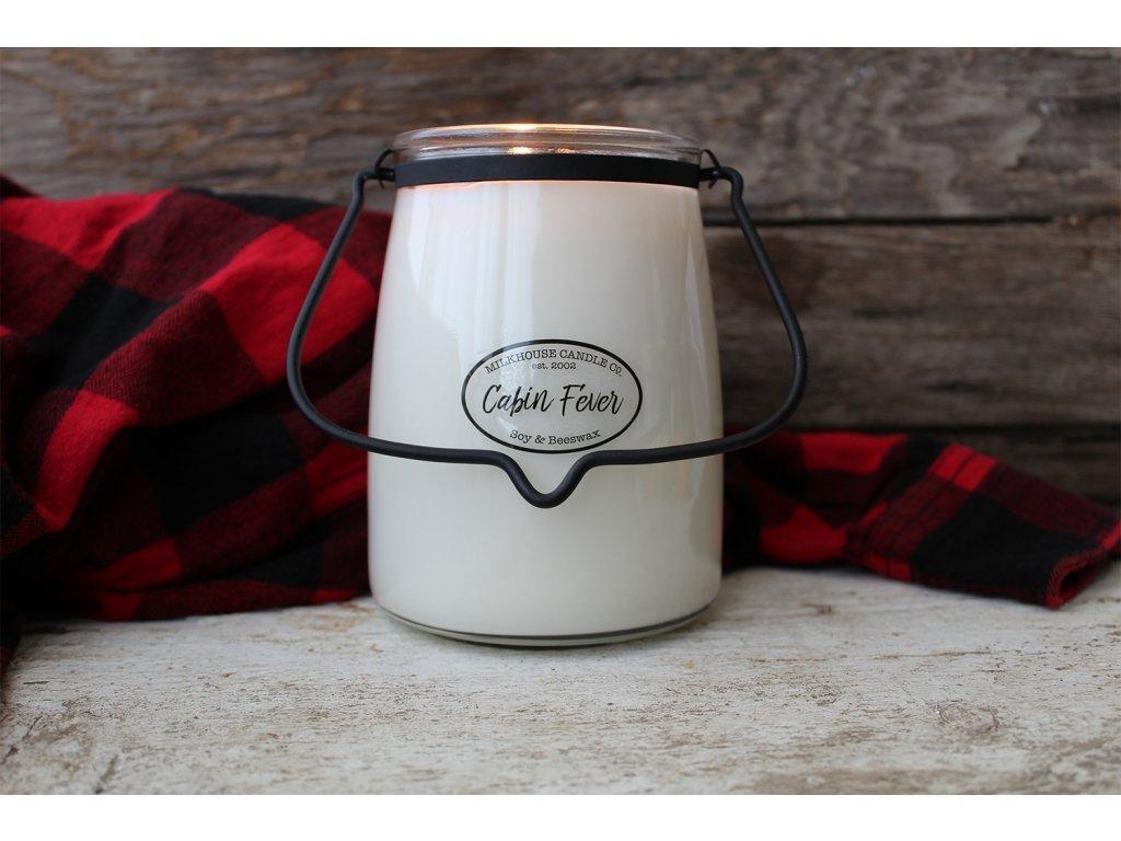 Milkhouse Candle svíčka Cabin Fever, 624 g