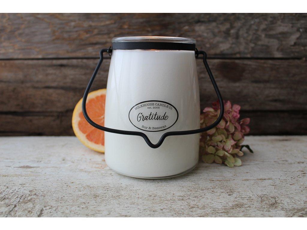 Milkhouse Candle svíčka Gratitude, 624 g
