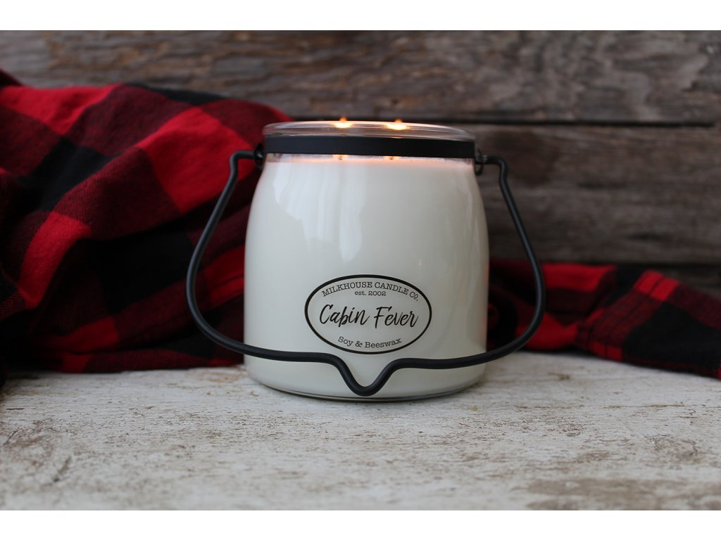 Milkhouse Candle svíčka Cabin Fever, 454 g