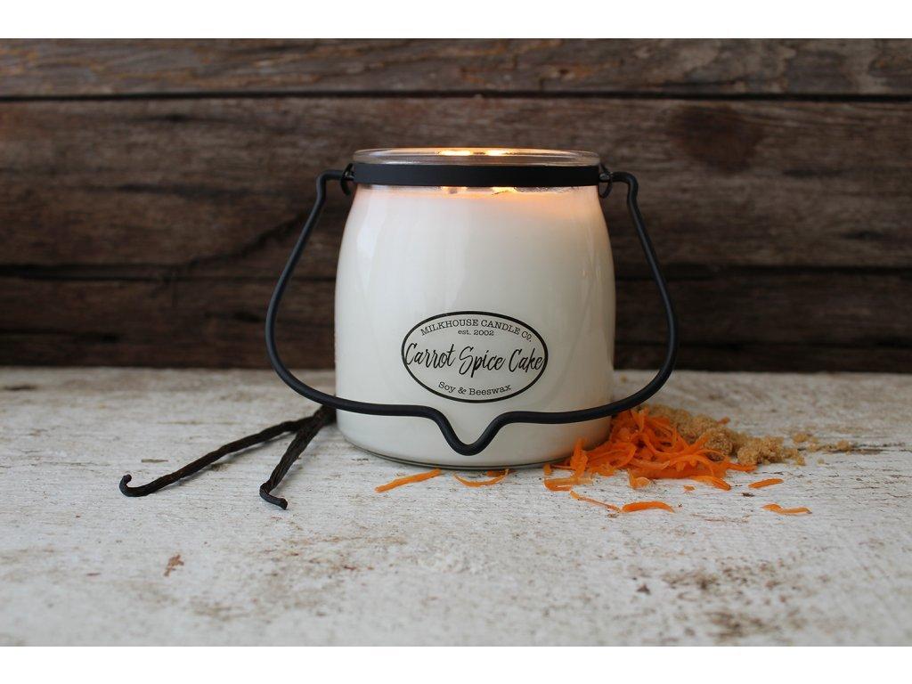 Milkhouse Candle svíčka Carrot Spice Cake, 454 g