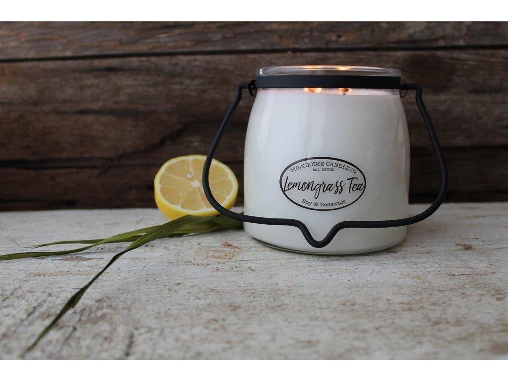 Milkhouse Candle svíčka Lemongrass Tea, 454 g