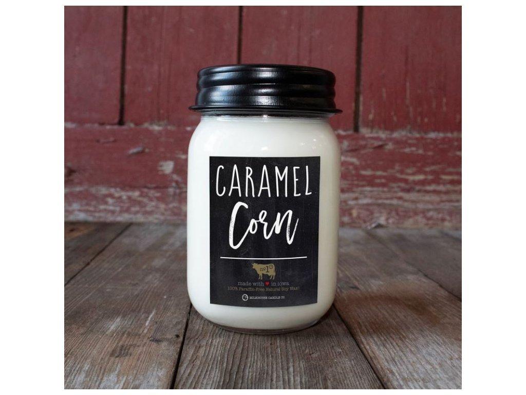 Milkhouse Candle svíčka Caramel Corn, 368 g