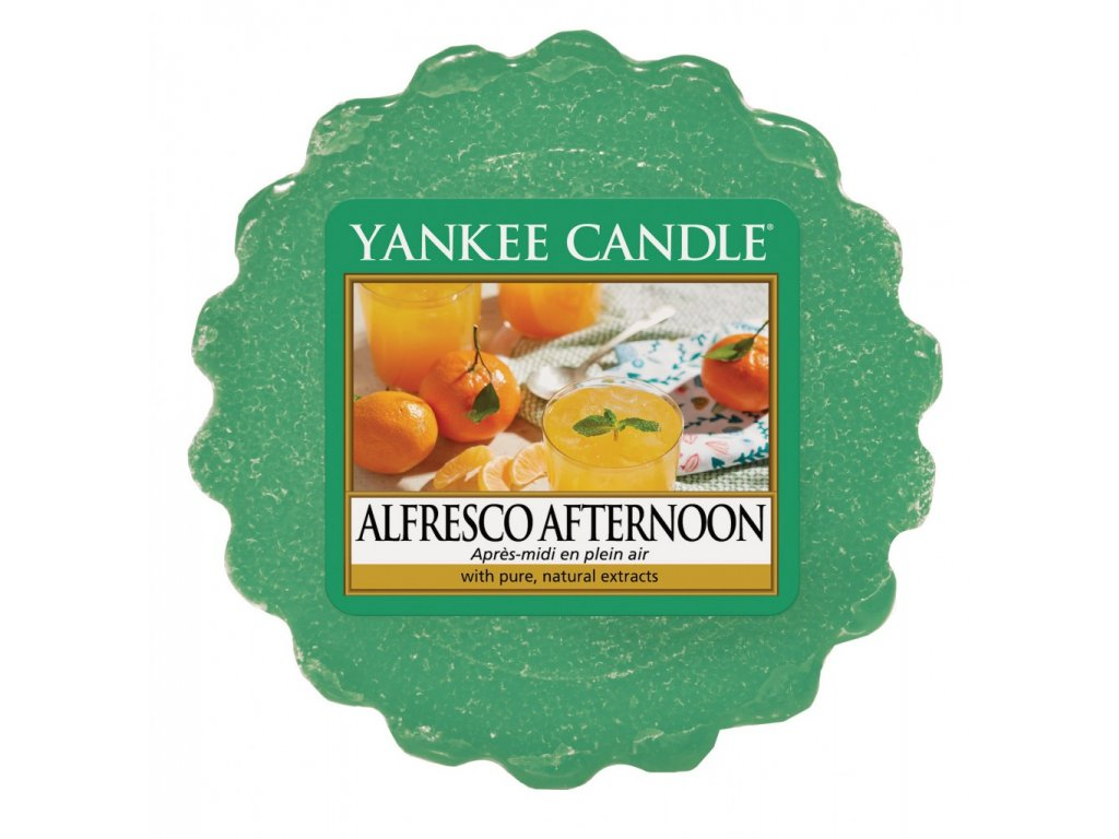 Yankee Candle - Alfresco  Afternoon Vosk do aromalampy, 22 g