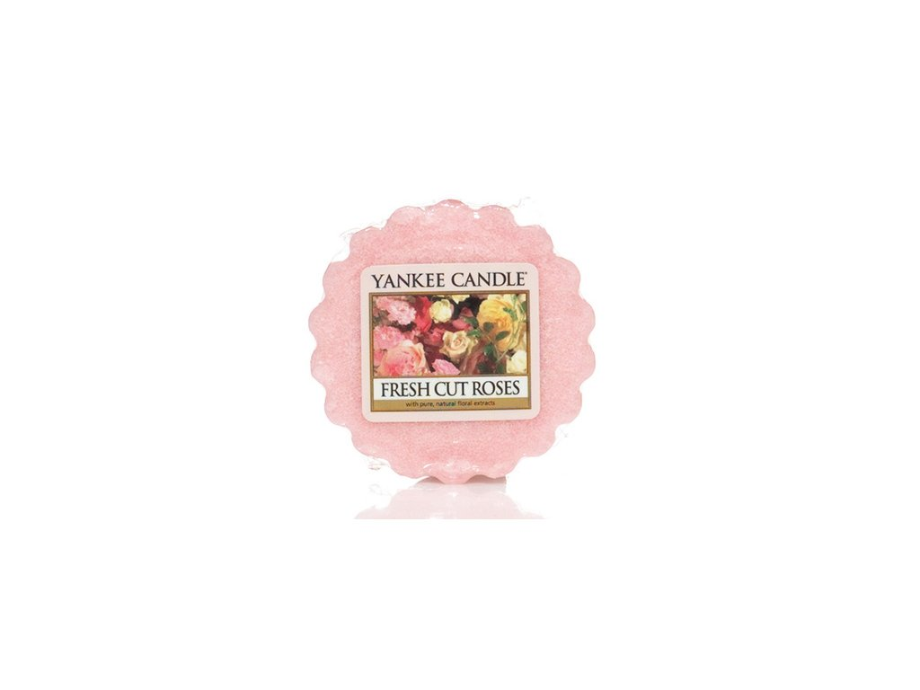 Yankee Candle - Fresh Cut Roses Vosk do aromalampy, 22 g