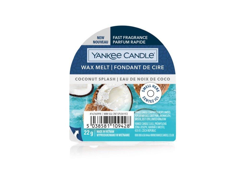 Yankee Candle - Coconut Splash Vosk do aromalampy nový 2021, 22 g