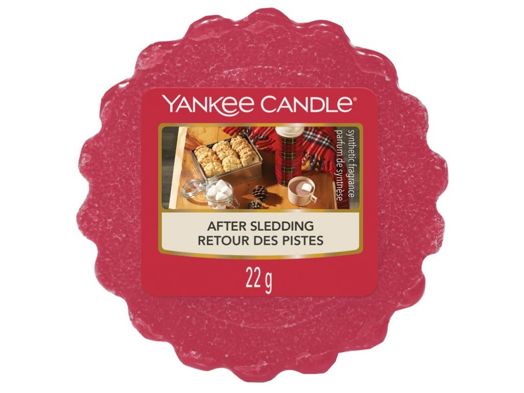 Yankee Candle - After Sledding Vosk do aromalampy, 22 g