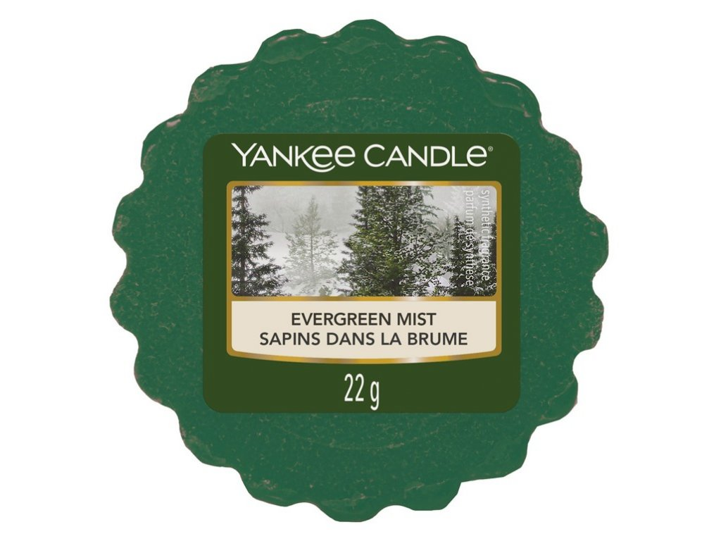 Yankee Candle - Evergreen Mist Vosk do aromalampy, 22 g