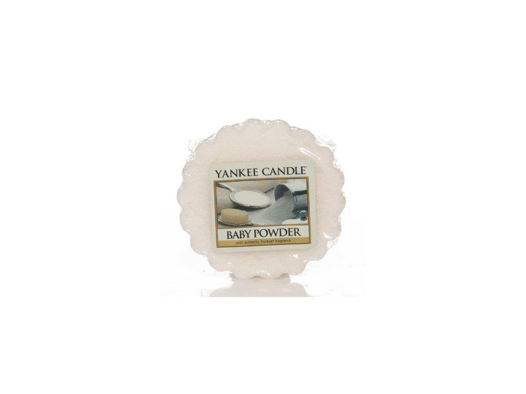 Yankee Candle - Baby Powder Vosk do aromalampy,22 g