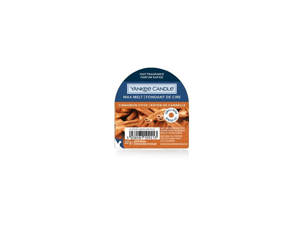 Yankee Candle - Cinnamon Stick Vosk do aromalampy, 22 g