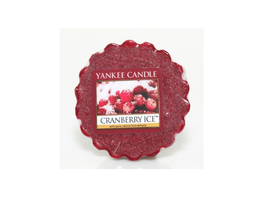 Yankee Candle - Cranberry Ice Vosk do aromalampy, 22 g