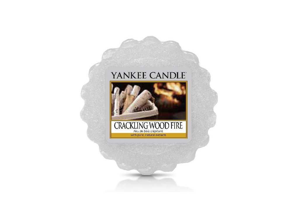 Yankee Candle - Crackling Wood Fire Vosk do aromalampy, 22 g