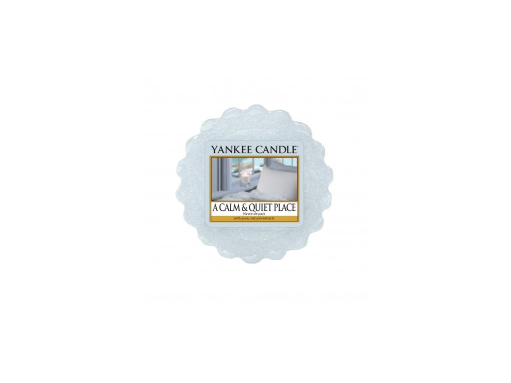 Yankee Candle - A Calm & Quiet Place Vosk do aromalampy, 22 g