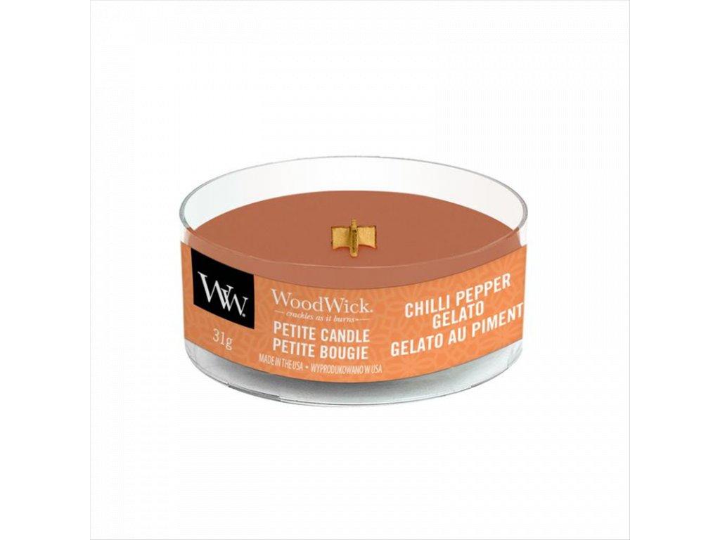 WoodWick Svíčka Petite Chilli Pepper Gelato, 31 g