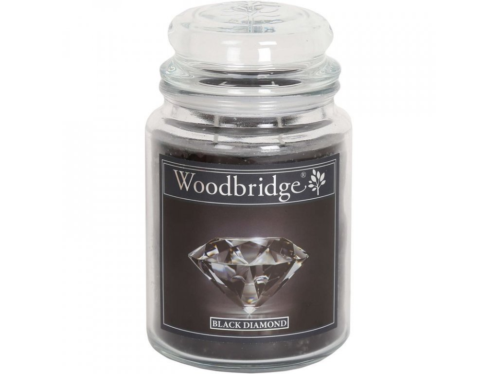 Woodbridge svíčka Black Diamond, 565 g