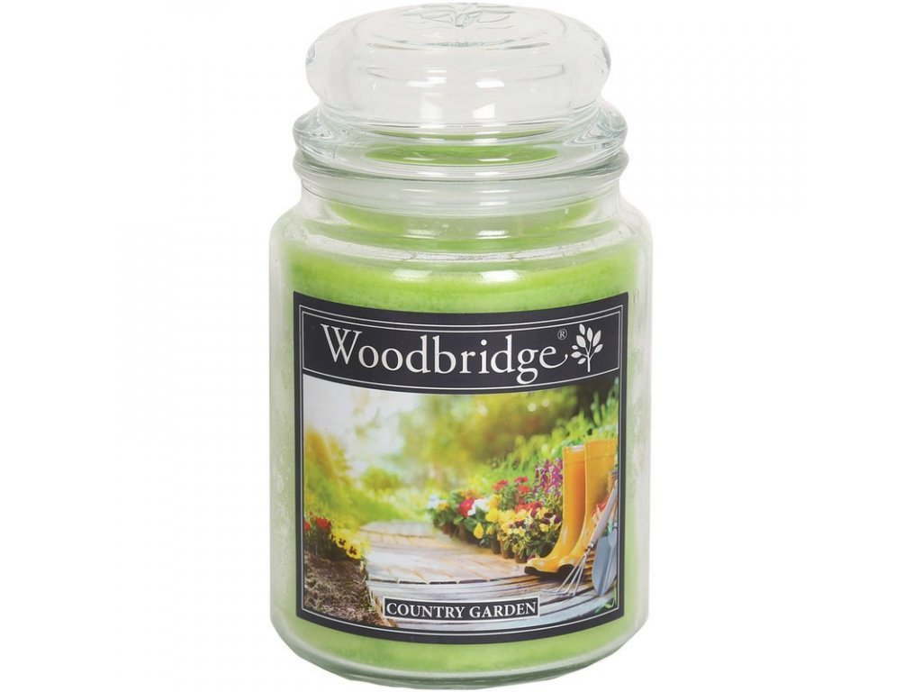 Woodbridge svíčka Country Garden, 565 g
