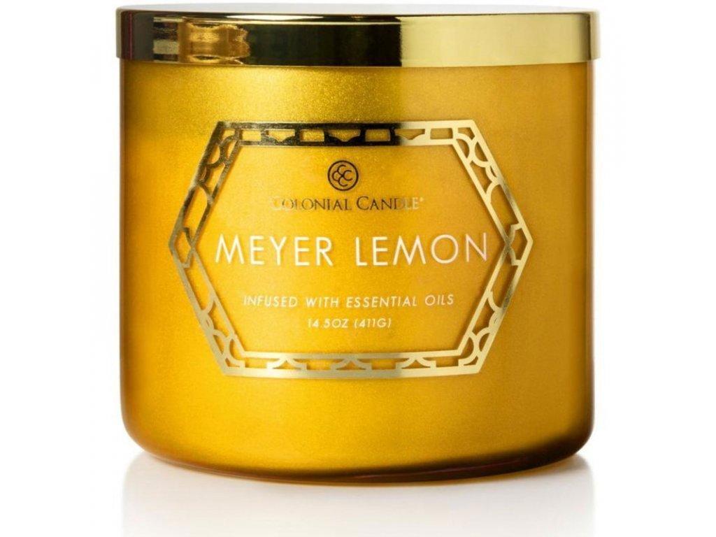 Colonial Candle svíčka Luxe Meyer Lemon, 411 g