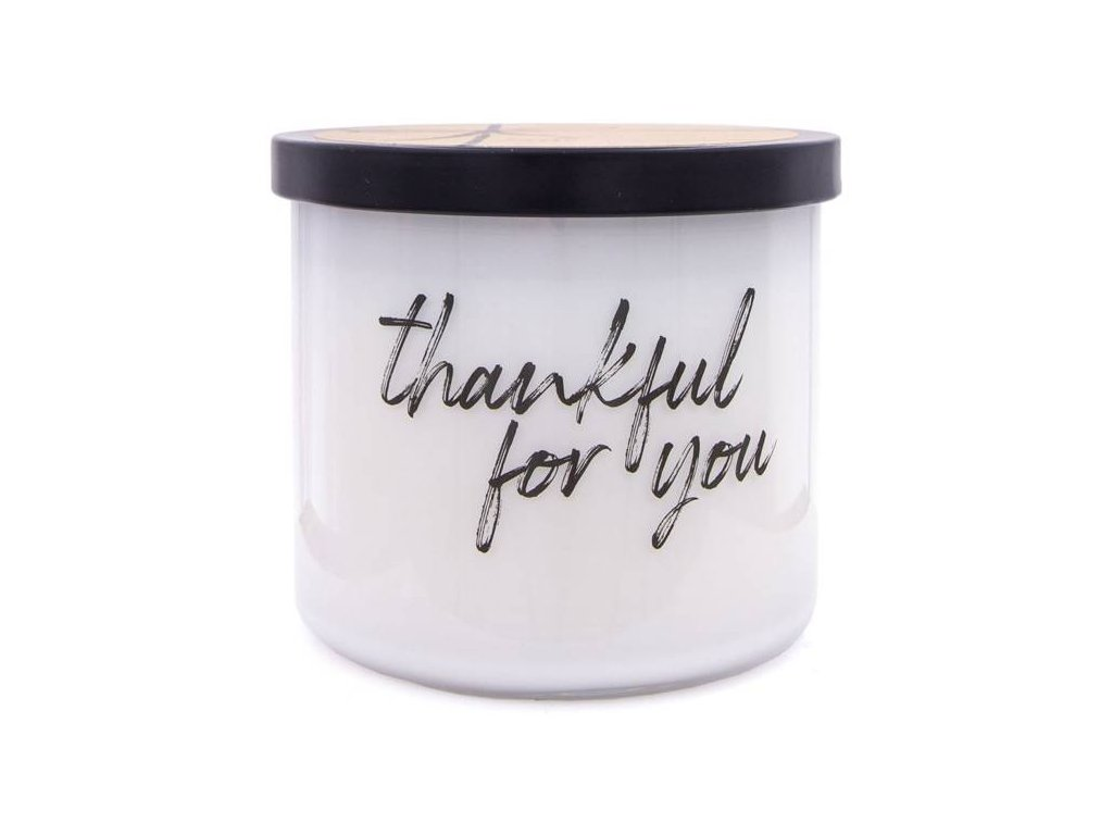 Colonial Candle svíčka Luxe Thankful For You, 411 g