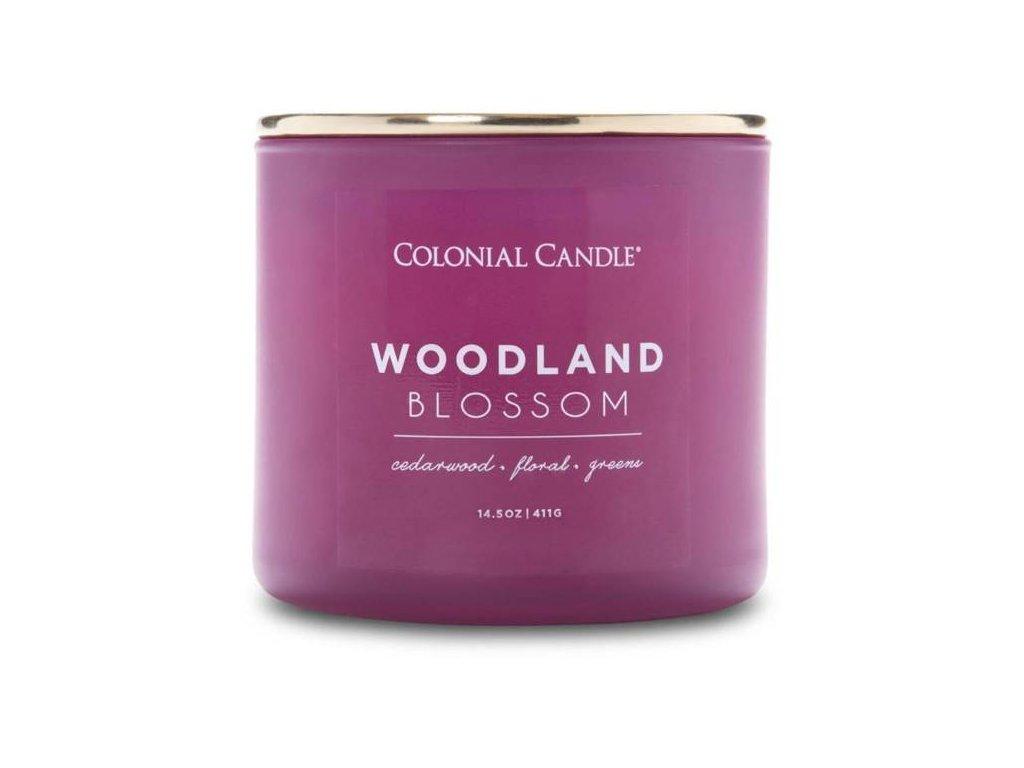 Colonial Candle svíčka Pop Of Color Woodland Blossom, 411 g