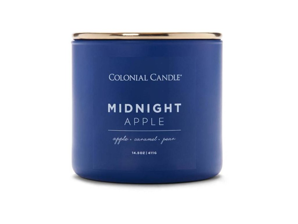 Colonial Candle svíčka Pop Of Color Midnight Apple, 411 g