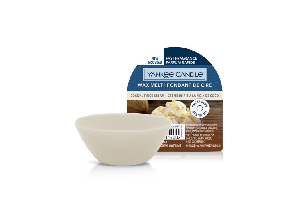 Yankee Candle - Coconut Rice Cream Vosk do aromalampy, 22 g