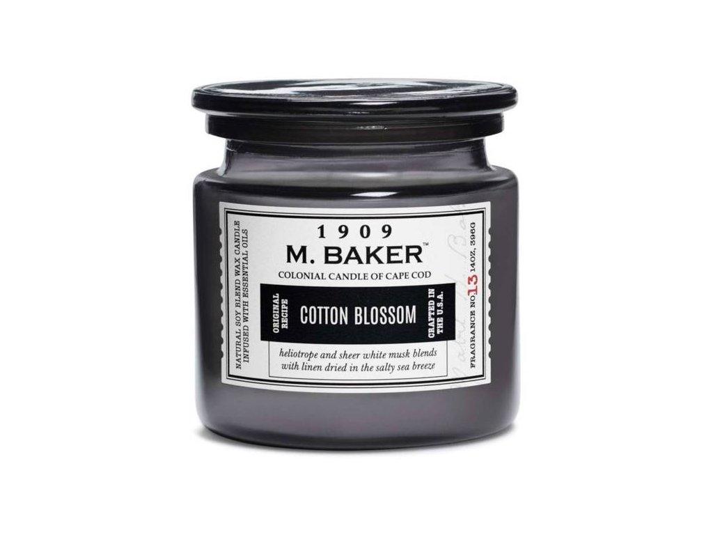 pol pm Colonial Candle M Baker duza sojowa swieca zapachowa w sloju 14 oz 396 g Cotton Blossom 8624 3