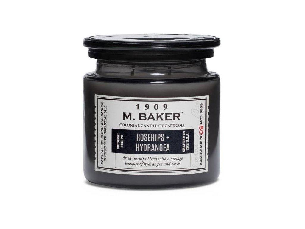 pol pm Colonial Candle M Baker duza sojowa swieca zapachowa w sloju 14 oz 396 g Rosehips Hydrangea 8619 4