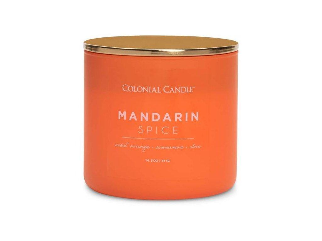 pol pm Colonial Candle Pop Of Color sojowa swieca zapachowa w szkle 3 knoty 14 5 oz 411 g Mandarin Spice 8279 2