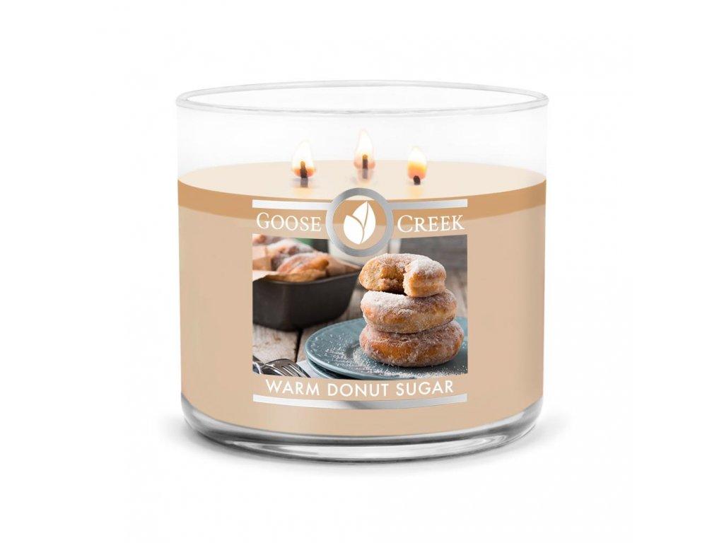 Warm Donut Sugar Large 3 Wick Candle 1024x1024