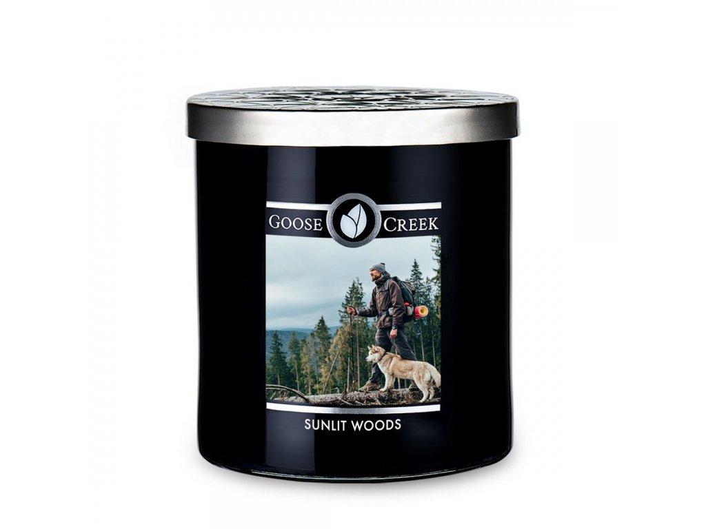 goose creek candlez sunlit woods mens collection tumbler 453g