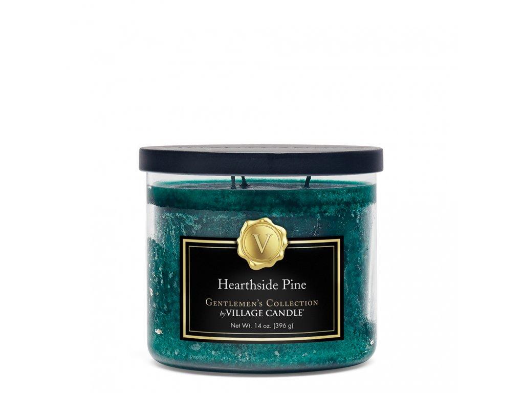 hearthside pine medium bowl candle 4170069