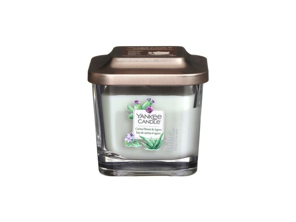 yankee 1630534e cactus flower and agave small elevate candle 2