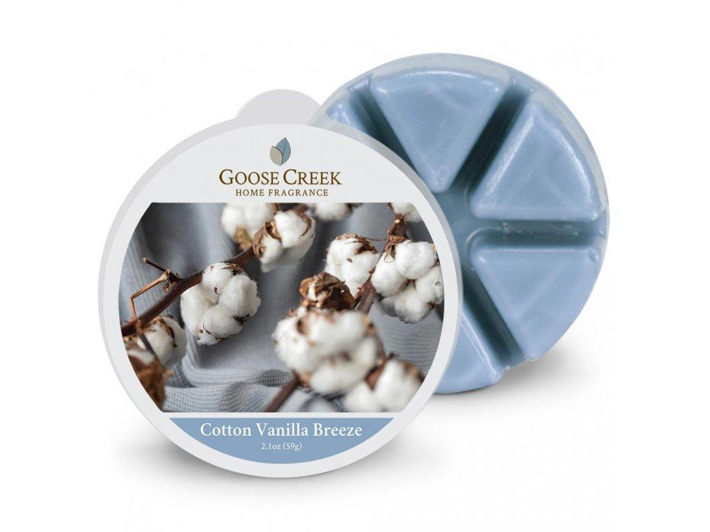 Cotton Vanilla Breeze Wax Melt 1024x1024