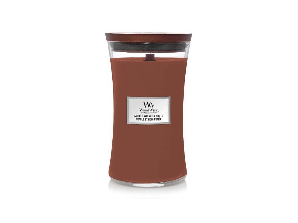 pol pl WoodWick Smoked Walnut Maple Duza Swieca 609 5g 6504 1