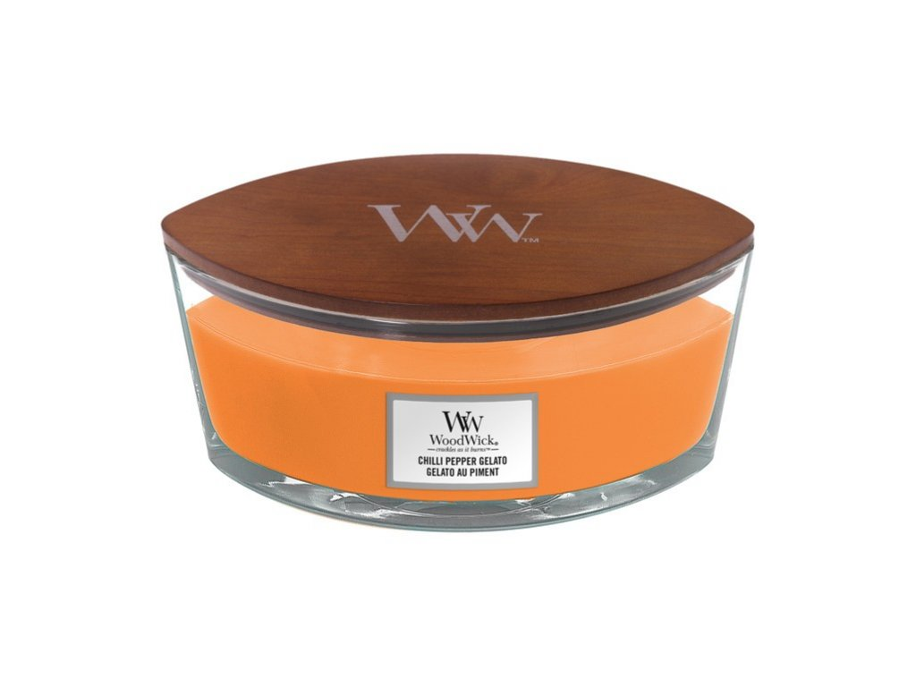 Woodwick Chilli Pepper Gelato Ellipse Jar Candle 1 1200x