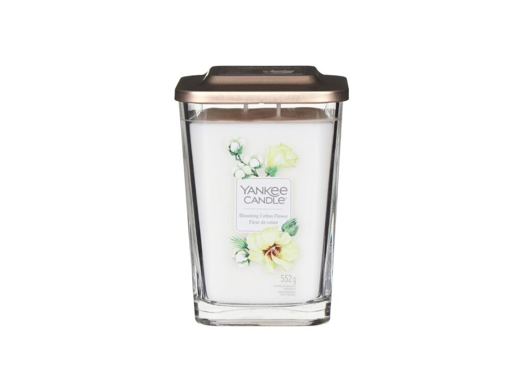 yankee candle 1631644e elevation blooming cotton flower large candle 2