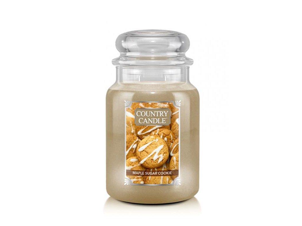 Country Candle Vonná Svíčka Maple Sugar Cookie, 652 g