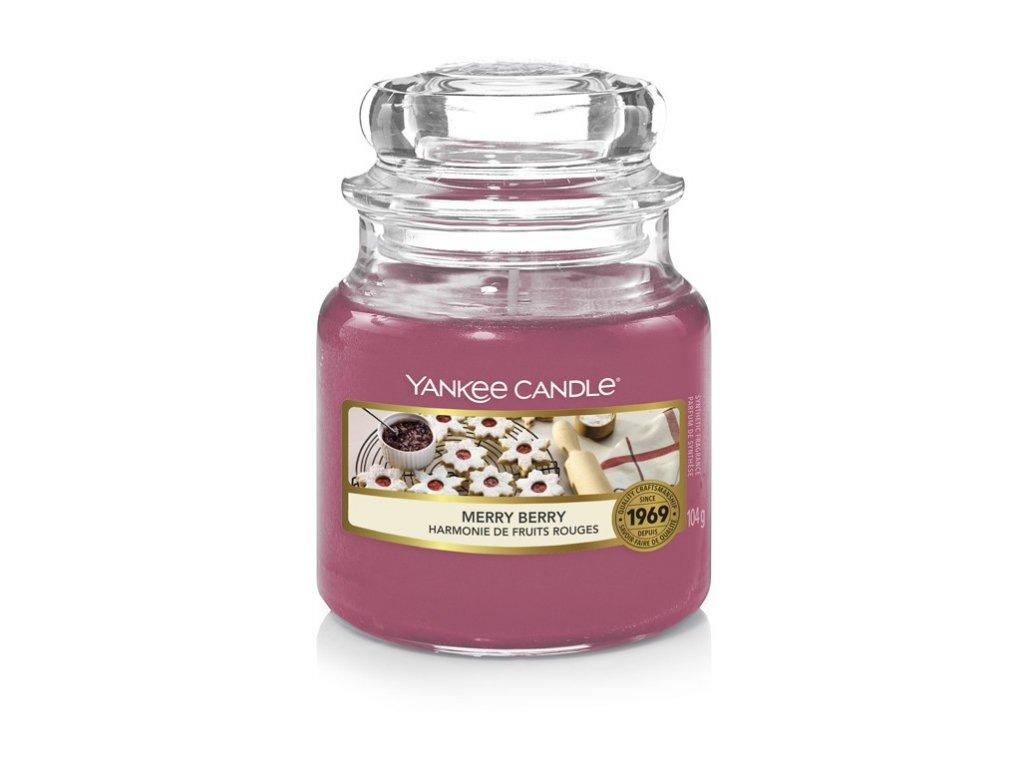 Yankee Candle Vonná Svíčka Merry Berry classic malý, 104 g