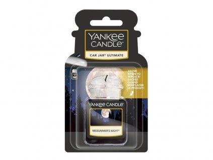 Yankee Candle Midsummer´s Night Gelová aroma visačka do auta, 1 ks