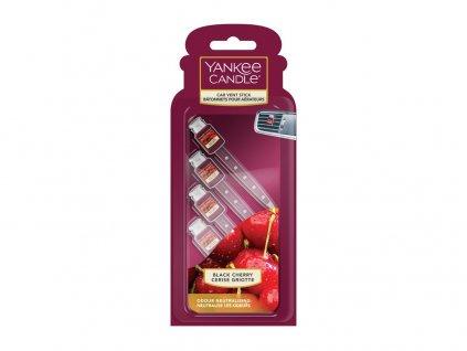Yankee Candle Black Cherry Vonné kolíčky do auta, 4 ks