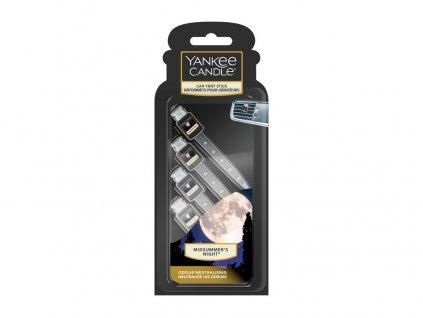 Yankee Candle Midsummer´s Night Vonné kolíčky do auta, 4 ks