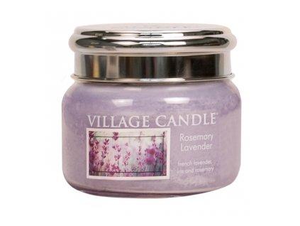 Village Candle Vonná svíčka Rozmarýn a Levandule - Rosemary Lavender, 262 g