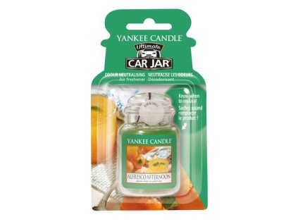 Yankee Candle Alfresco Afternoon Gelová aroma visačka do auta, 1ks