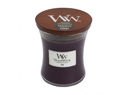 WoodWick Svíčka Fig váza střední, 275 g