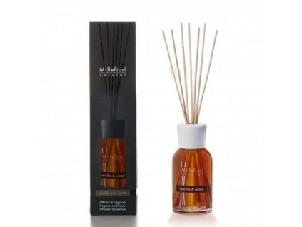 Millefiori Natural Vanilla & Wood aroma difuzér 100 ml