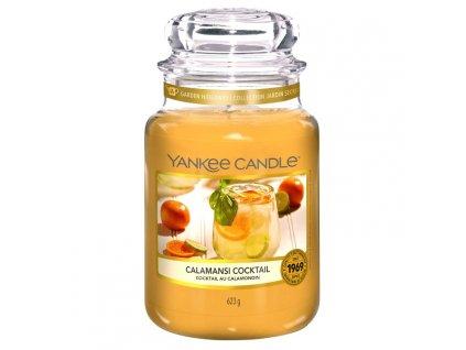Yankee Candle Vonná Svíčka Calamansi Cocktail classic velký, 623 g SLEVA