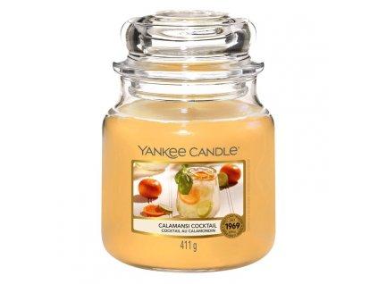 Yankee Candle Vonná Svíčka Calamansi Cocktail classic střední, 411 g