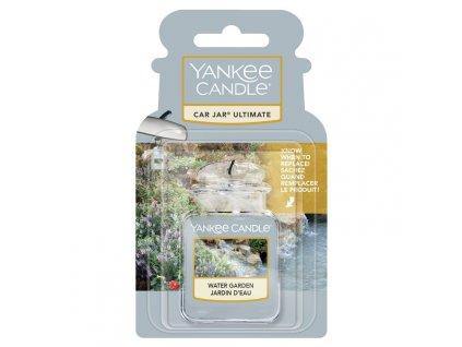 Yankee Candle Water Garden Gelová aroma visačka do auta, 1 ks